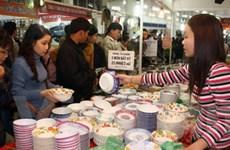 900 gian trưng bày, bán sản phẩm ở Hội chợ xuân