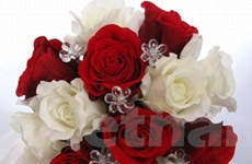 """Độc đáo """"hoa tươi mãi mãi"""" vào dịp Lễ Tình nhân"""