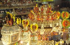 Rio bắt đầu đếm ngược từng ngày tới lễ Carnival