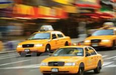 """Thành phố New York đề xuất ý tưởng """"iPad hóa taxi"""""""