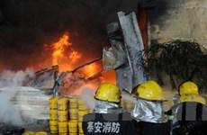 Trung Quốc: Nổ nhà máy hóa chất, 12 người chết