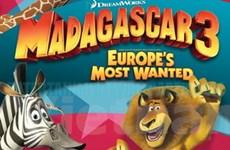 """""""Madagascar 3"""" được ra mắt vào mùa Hè năm nay"""