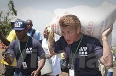 Sean Penn được vinh danh vì nỗ lực cứu trợ Haiti