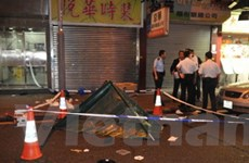Hong Kong: Cảnh sát giao thông bắn chết người