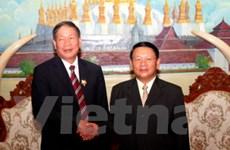Đoàn Hội nạn nhân chất độc màu da cam thăm Lào