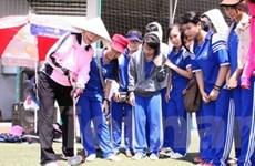Giao lưu văn hóa và đánh Golf Ground của Nhật Bản