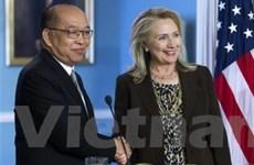 Mỹ và Thái Lan tiến hành vòng đối thoại chiến lược