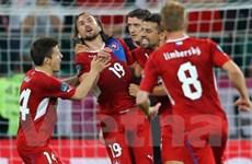 Đánh bại Ba Lan, CH Séc chiễm chệ ngôi đầu bảng