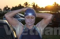 Người phụ nữ Anh thất bại khi bơi từ Cuba tới Mỹ