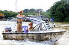 Ra quân đảm bảo trật tự ATGT trên tuyến đường thủy