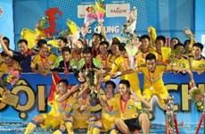 SLNA giành chức vô địch giải bóng đá U21 quốc gia