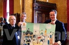 Nạn nhân da cam VN gửi quà cảm ơn Thủ tướng Anh
