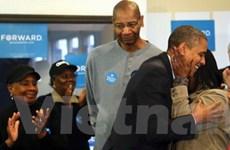 Tổng thống tái đắc cử Barack Obama cảm ơn cử tri