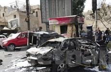 Syria: Đánh bom kinh hoàng gần thủ đô Damascus