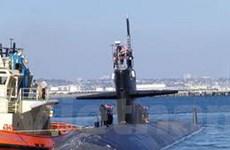 Tàu ngầm hạt nhân của Mỹ sẽ cập cảng Philippines