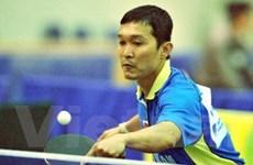 107 tay vợt tham dự Giải vô địch bóng bàn toàn quốc