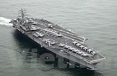 Mỹ điều tàu sân bay tham gia tập trận với Hàn Quốc