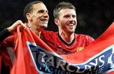 Các cầu thủ M.U hân hoan chào đón David Moyes