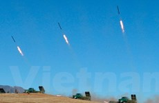 Triều Tiên lại phóng tên lửa tầm ngắn có dẫn đường