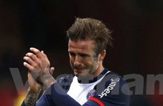 Beckham rơi lệ ở trận đấu cuối cùng của sự nghiệp