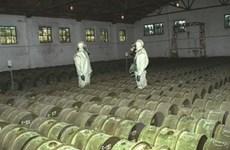 Nga cho tiêu hủy 80% kho vũ khí hóa học của mình