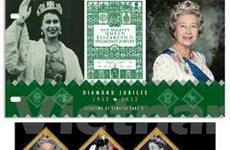 Phát hành tem lễ đăng quang Nữ hoàng Elizabeth II