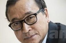"""""""Campuchia ân xá cho thủ lĩnh đối lập Sam Rainsy"""""""