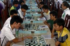 Hơn 500 kỳ thủ dự Giải cờ vua trẻ toàn quốc 2013