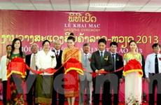 350 gian hàng tham dự hội chợ Việt-Lào năm 2013