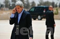 Mỹ và Palestine thảo luận về hòa đàm Trung Đông