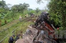Mexico: Tàu hỏa trật bánh, 43 người chết và bị thương
