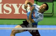 Tiến Minh khởi đầu ấn tượng giải Nhật Bản mở rộng