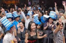 Lễ hội bia Oktoberfest tại TP.HCM tạo sức hút lớn