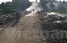 Làng nghề Hưng Yên ngập trong ô nhiễm và rác thải