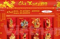 Quà Tết online cạnh tranh với cửa hàng, siêu thị