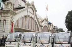 Xe điện phục vụ tham quan phố cổ HN từ tháng 7