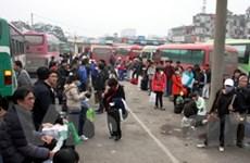Người dân chen chân rời đô đi nghỉ Tết Dương lịch