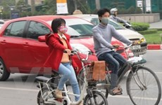 Sẽ xử lý người đi xe đạp điện không mũ bảo hiểm