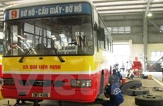 Lái xe thi bảo trì nhằm nâng cao chất lượng xe buýt