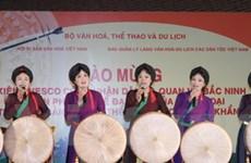 Dân ca quan họ Bắc Ninh có danh hiệu nghệ nhân