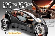 VenturaOne hybrid ba bánh - Phương tiện đột phá