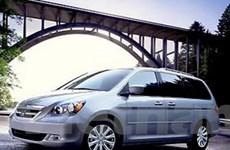 Honda thu hồi xe Odyssey bị lỗi ở Trung Quốc