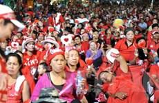 """Phe """"áo đỏ"""" tiếp tục biểu tình tại thủ đô Bangkok"""