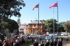 Lễ thượng cờ Việt Nam tại thành phố của Australia