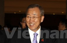 Thủ tướng Nguyễn Tấn Dũng tiếp Tổng thư ký LHQ