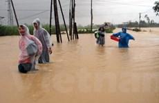 Nhiều huyện tại Quảng Ngãi bị cô lập do mưa lũ