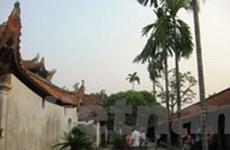 Đình chỉ việc xây dựng trái phép tại chùa Bút Tháp
