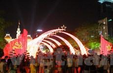 TP. Hồ Chí Minh tưng bừng đón chào năm mới 2011
