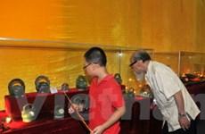 Bàn giao phòng di vật về Hoàng thành Thăng Long