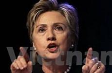 Ngoại trưởng Mỹ Hillary Clinton công du Vùng Vịnh